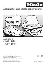 miele h 5681 bpl manuels. Black Bedroom Furniture Sets. Home Design Ideas