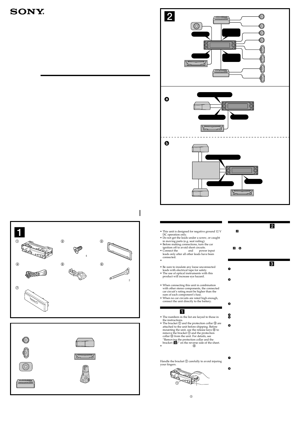 Wiring Diagram For Sony Cdx M9900 Electrical Diagrams M600 Manuel Dutilisation Pages 4