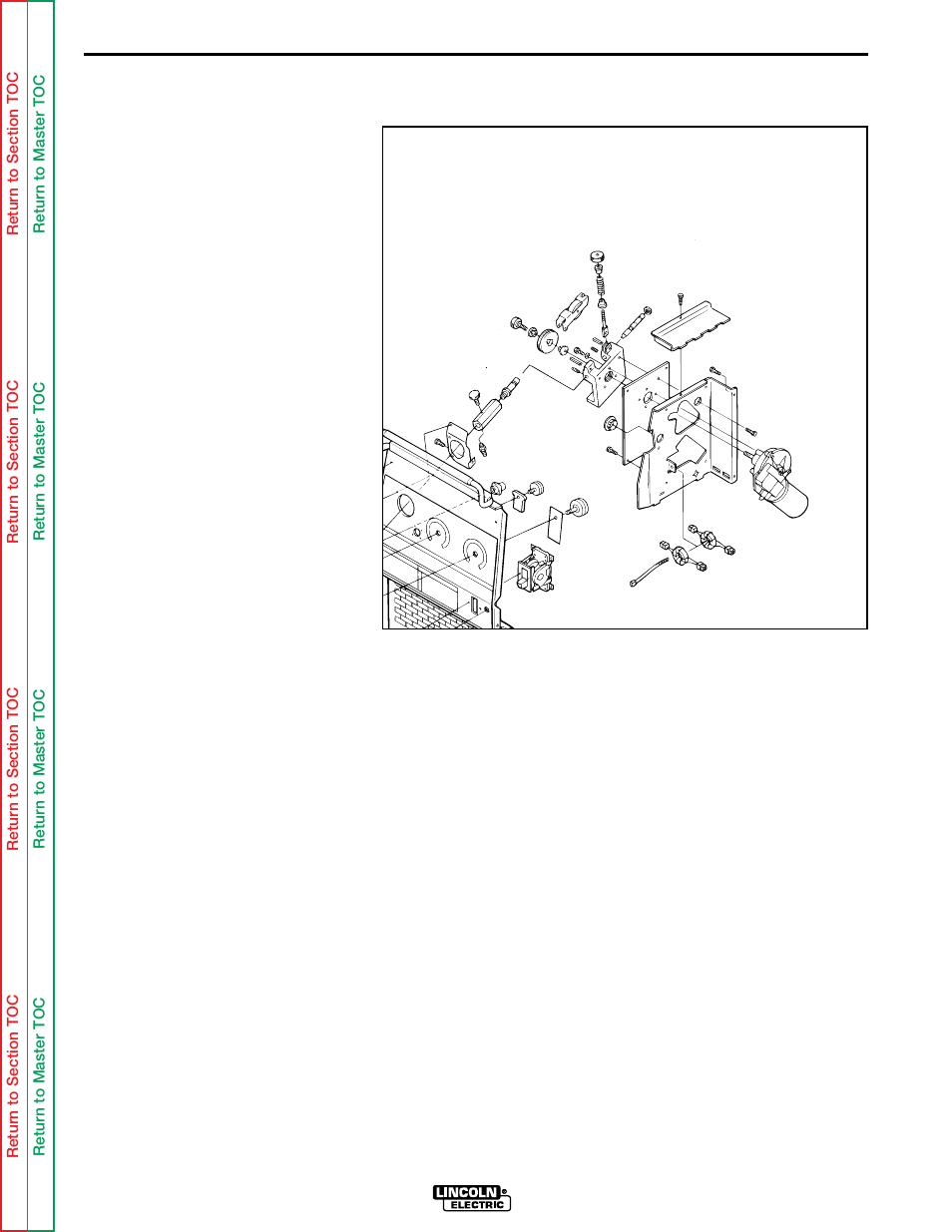 Troubleshooting Repair Procedure Lincoln Electric Wire Matic 7 Motor Wiring Diagram 255 Svm 119 A Manuel Dutilisation Page 81 98