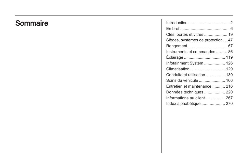 opel astra manuel d utilisation pages 274 rh modes d emploi com manuel utilisation opel astra 2016 notice utilisation opel astra j