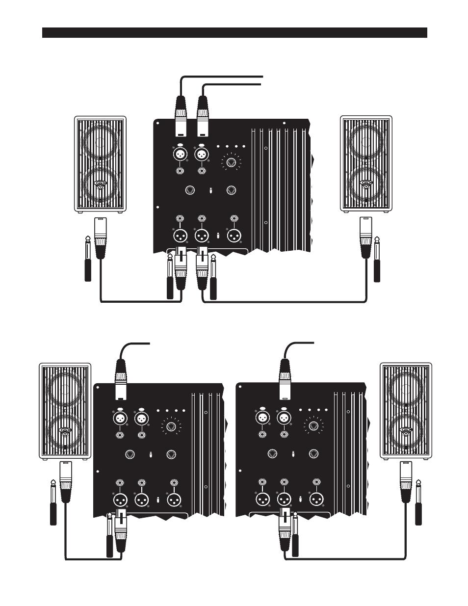 configuraciones del sistema del mezclador subwoofer activo cerwin vega cerwin vega cva 115. Black Bedroom Furniture Sets. Home Design Ideas