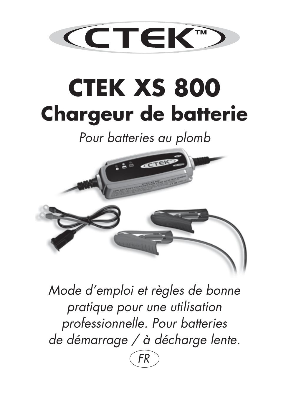 Ctek xs 800 manuel d 39 utilisation pages 7 - Compteur linky mode d emploi ...