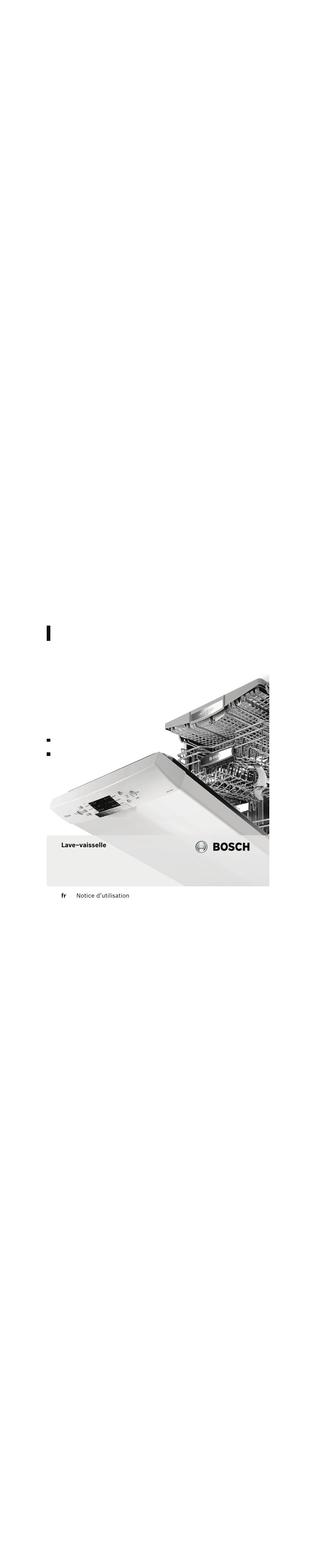 bosch spv53m00eu super silence lave vaisselle 45 cm tout int grable manuel d 39 utilisation pages 32. Black Bedroom Furniture Sets. Home Design Ideas
