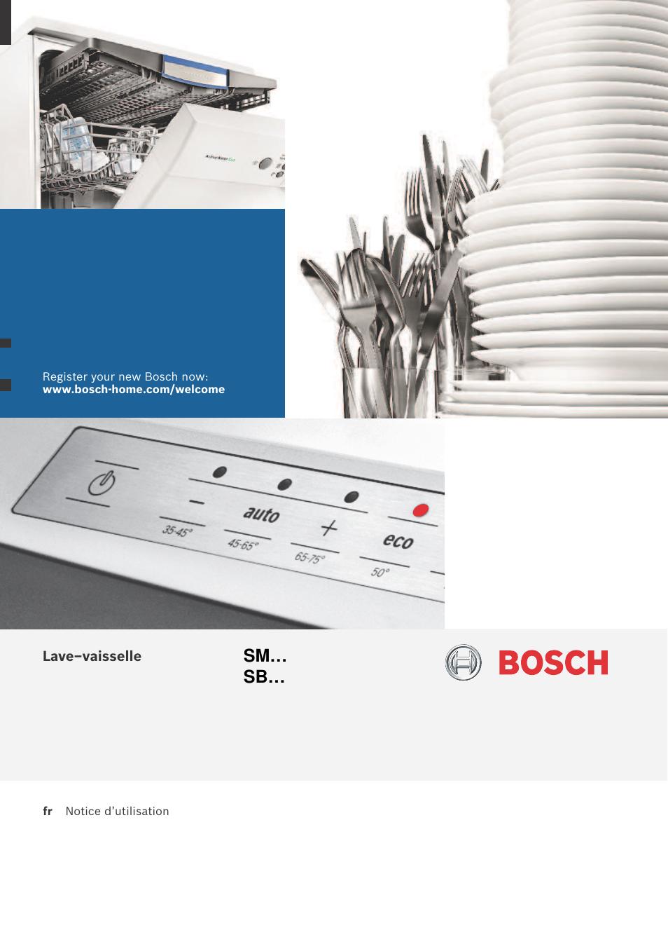 Bosch Smv58n50eu Active Water Eco Lave Vaisselle 60 Cm Tout