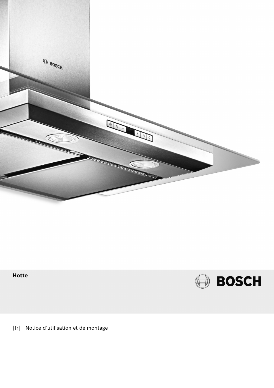 Bosch dwb067a51 inox hotte d corative murale 60 cm hotte for Hotte decorative 60 cm inox