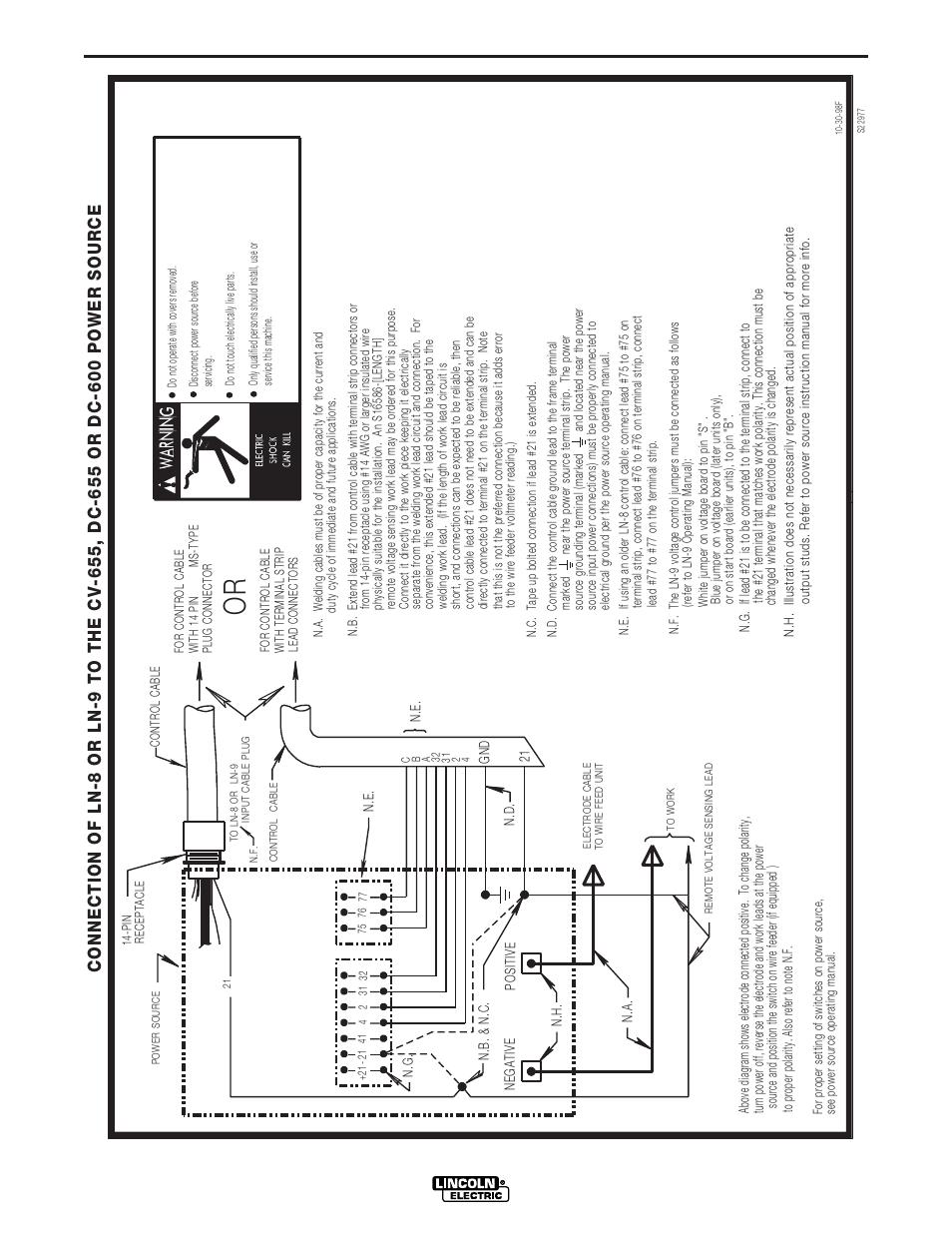 schémas, dc-600   lincoln electric im642 idealarc dc-600 manuel  d'utilisation   page 46 / 56  modes-d-emploi.com