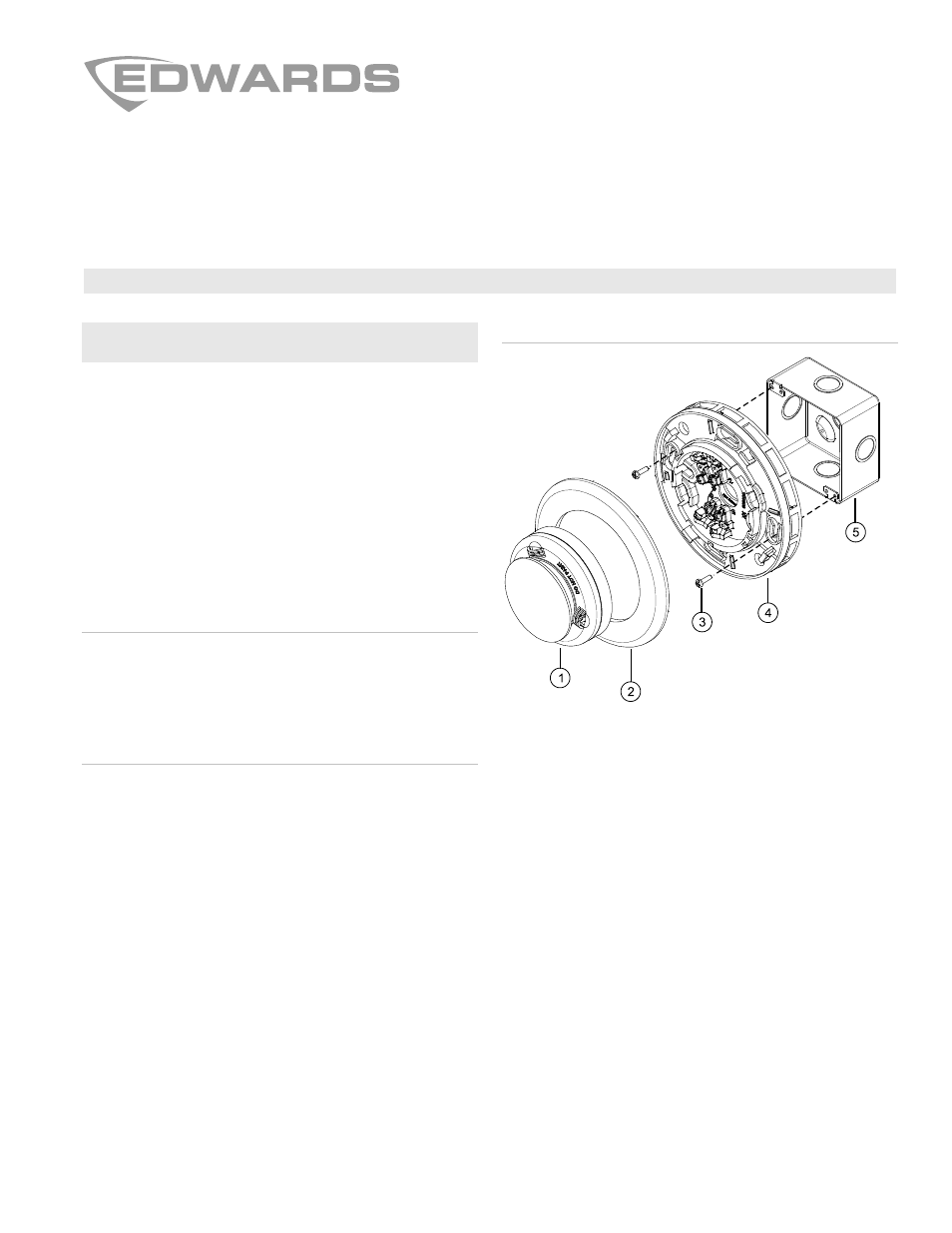Edwards Signaling Ib4u Analog Isolator Detector Base Manuel D Electric Field Circuit Dutilisation Pages 4