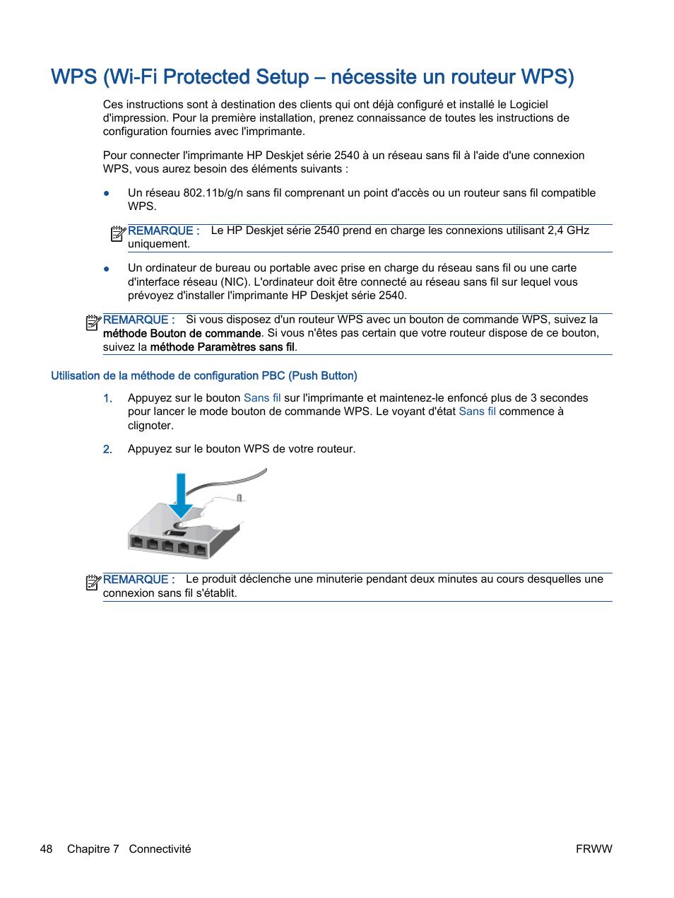 HP Imprimante tout-en-un HP Deskjet 2540 Manuel d ...