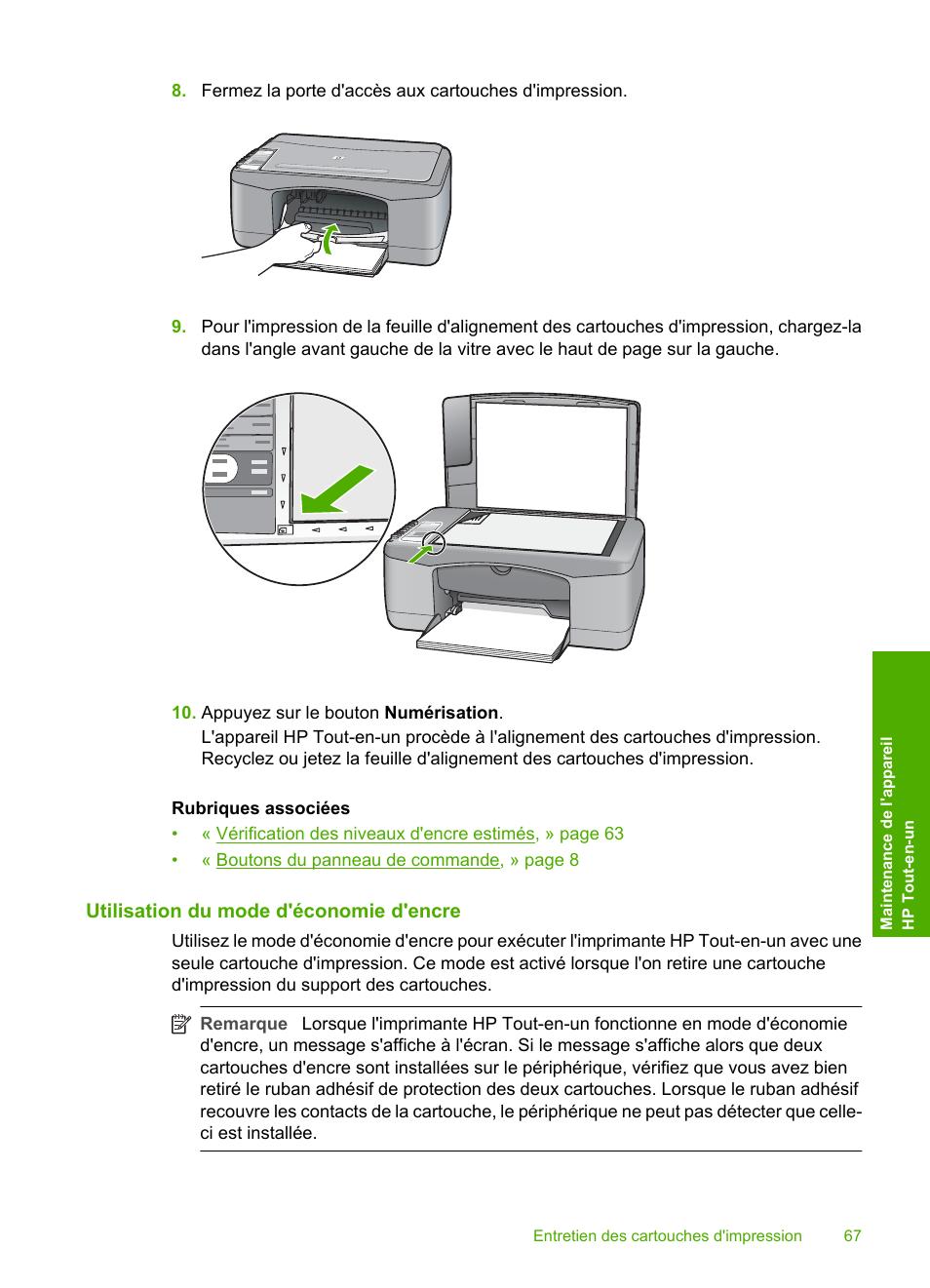 Utilisation du mode d'économie d'encre | HP Imprimante tout-en-