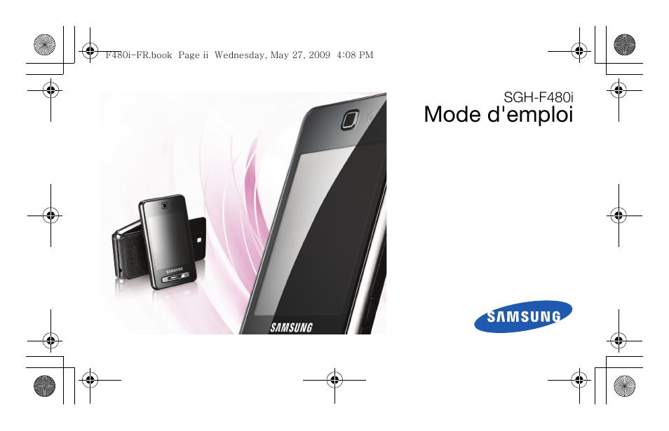 Samsung sgh f480 manuel d 39 utilisation pages 86 aussi pour sgh f480v - Compteur linky mode d emploi ...