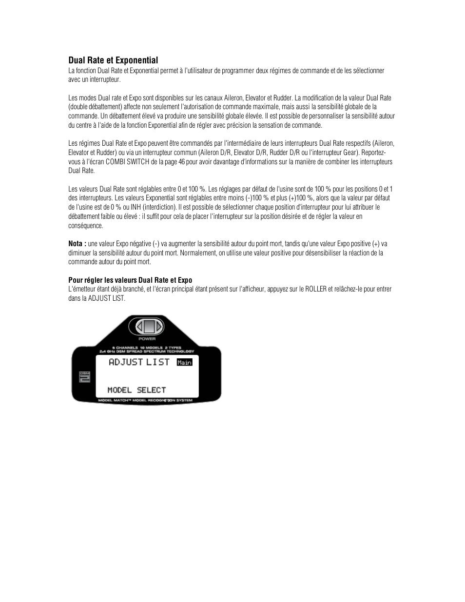Spektrum DX6i Manuel d'utilisation | Page 111 / 142