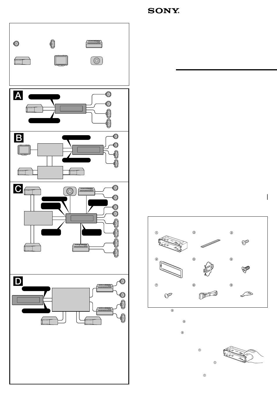 Sony Cdx M600 Manuel Dutilisation Pages 4 M750 Wiring Diagram