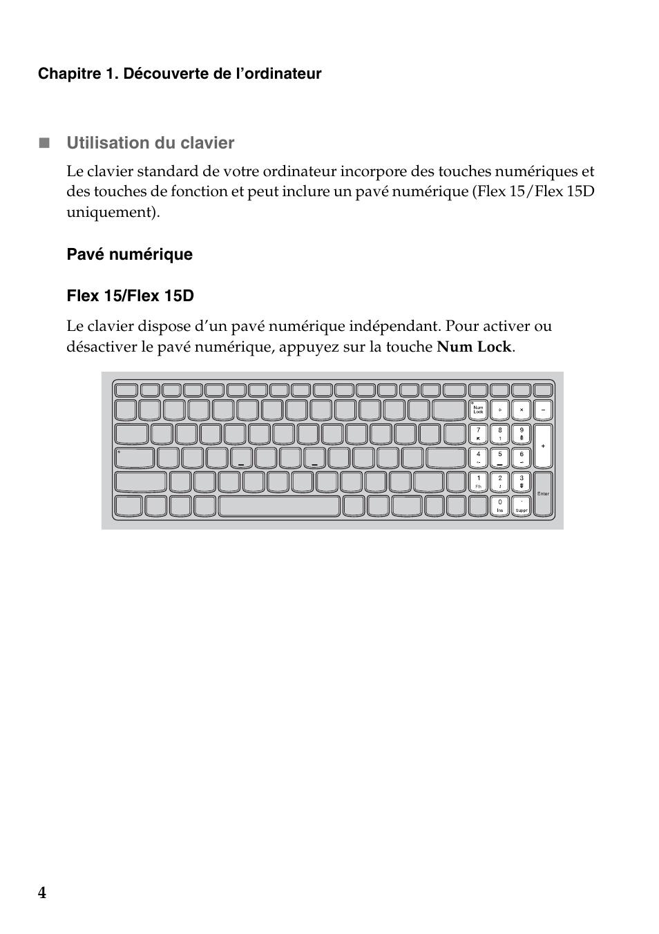 Lenovo Ideapad Flex 15 Notebook Manuel D Utilisation border=