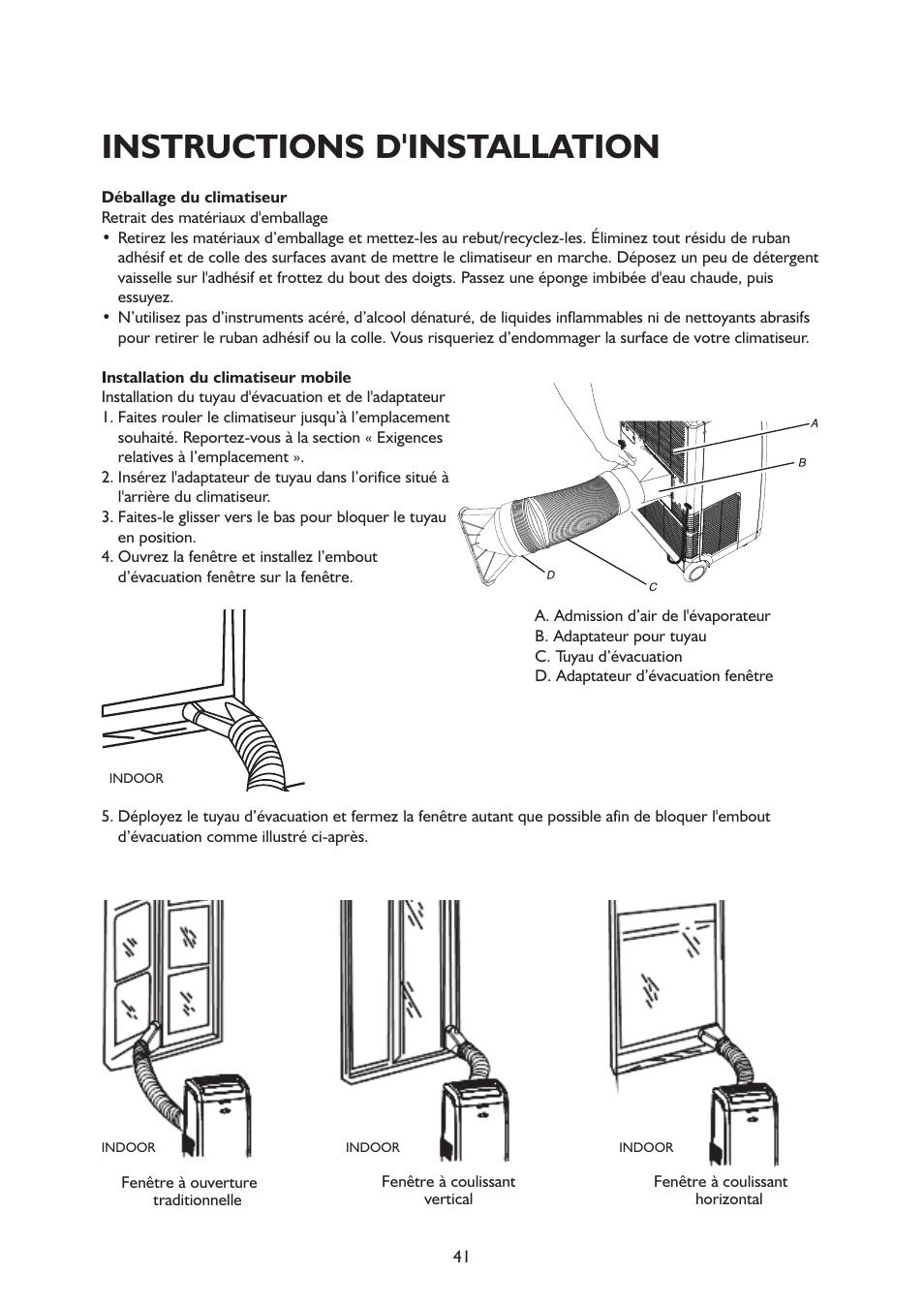 Instructions Dinstallation Whirlpool Amd 081 1 Manuel D