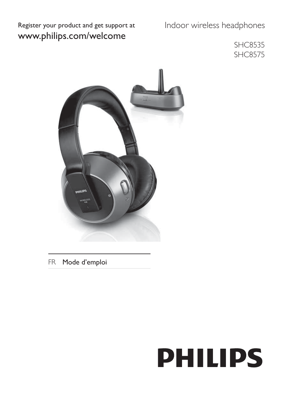 Philips Casque Hi Fi Sans Fil Manuel Dutilisation Pages 7
