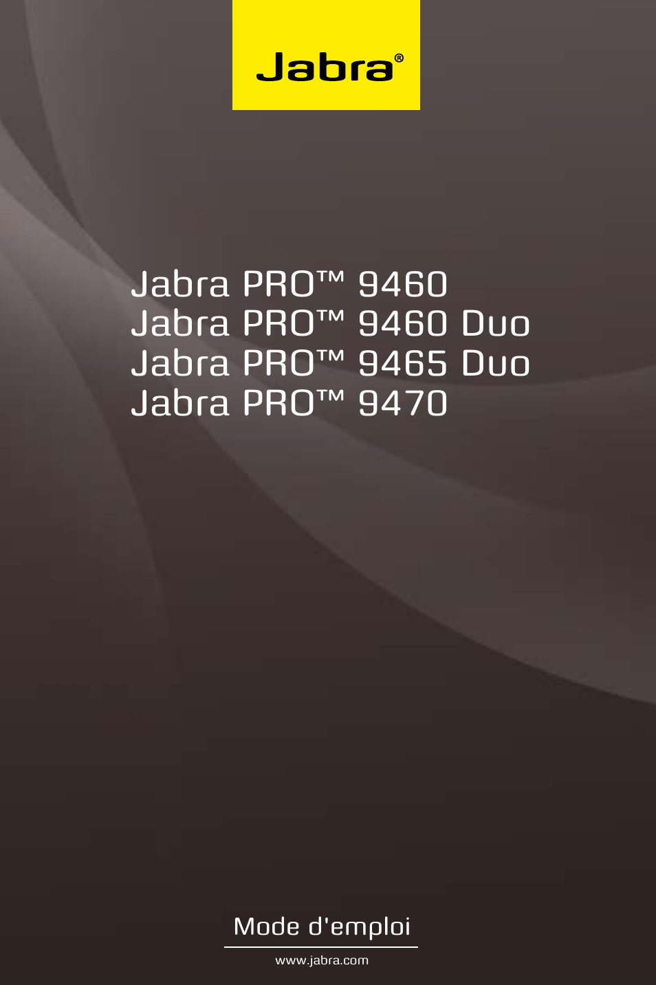 jabra pro 9470 user manual manuel d 39 utilisation pages 43 aussi pour pro 9465 duo user. Black Bedroom Furniture Sets. Home Design Ideas