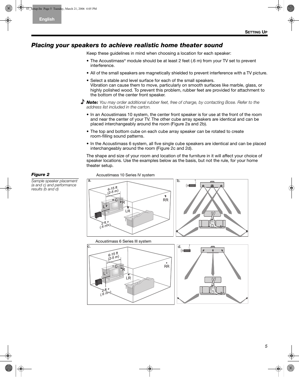 Bose Acoustimass 6 Series Ii Manuel D U0026 39 Utilisation