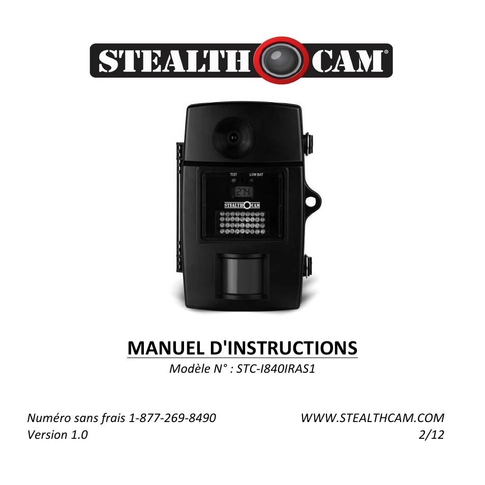 stealth cam stc i840iras1 rogue ir manuel d utilisation pages 48 rh modes d emploi com