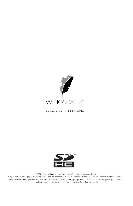 Wingscapes Birdcam Pro Manuel D Utilisation Pages