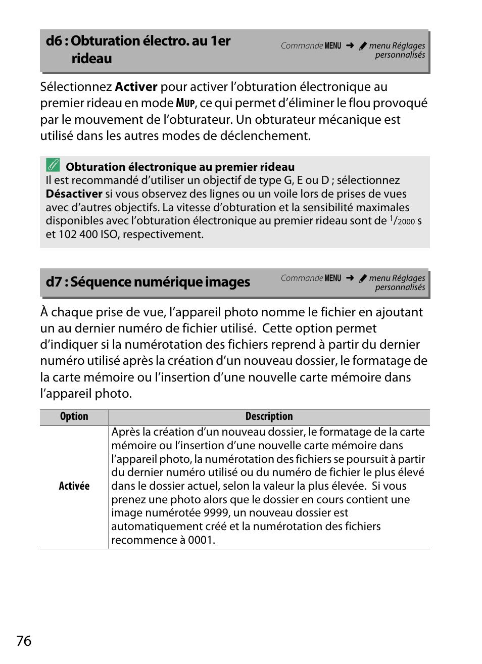 Nikon D6 D7