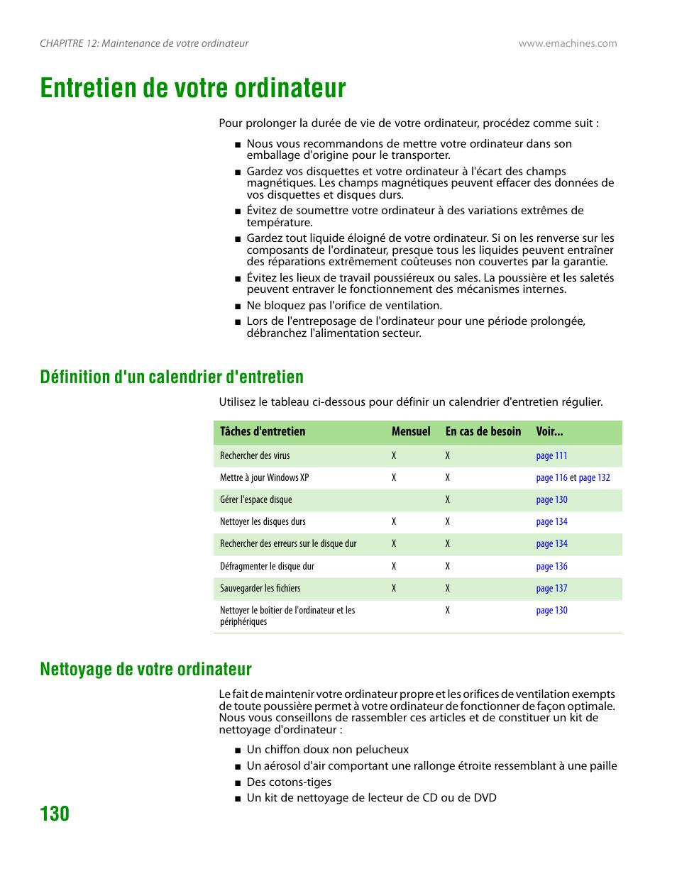 Calendrier Definition.Entretien De Votre Ordinateur Definition D Un Calendrier D